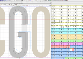 FontLab Studio screenshot