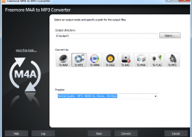 Freemore M4a to MP3 Converter screenshot
