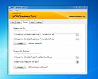 MD5 Checksum Tool screenshot