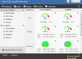 Free SQL Health Monitor screenshot
