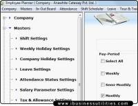 Employee Planner Utilities screenshot