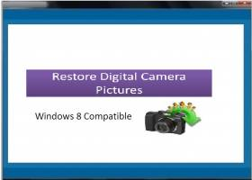 Restore Digital Camera Pictures screenshot