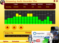 Streaming Audio Recorder Plus screenshot