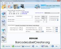 Warehousing Barcode Labels Maker screenshot