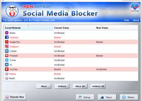 XenArmor Social Media Blocker screenshot