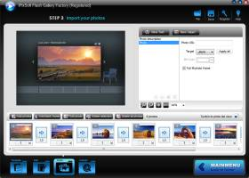 iPixSoft Flash Gallery Factory screenshot