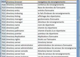 Dataprocessing Dictionary English French screenshot