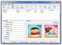 Stamp Collection Manager screenshot