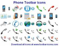 Phone Toolbar Icons screenshot