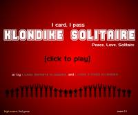 1 pass solitaire screenshot