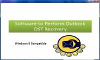 Software to Perform Outlook OST Recovery screenshot