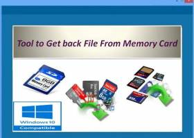 Tool to Get back File From Memory Card screenshot