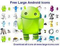Free Large Android Icons screenshot