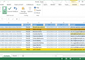 Excel Add-in for SugarCRM screenshot