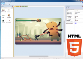 Construct 2 screenshot