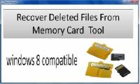 Restore Deleted Data from Memory Card screenshot
