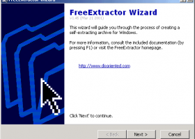 FreeExtractot screenshot