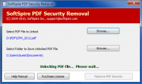 Remove PDF File Restrictions screenshot