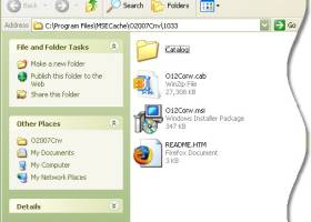 Microsoft Office Compatibility Pack for Word, Excel, and PowerPoint 2007 File Formats screenshot