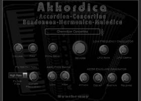 Akkordica Accordion Harmonica Melodica screenshot