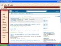 Search engines screenshot