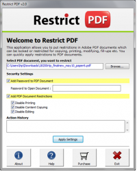 Prevent PDF from Printing screenshot