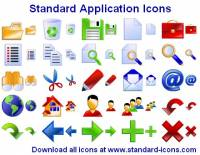 Standard Application Icons screenshot