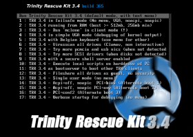 Trinity Rescue Kit screenshot