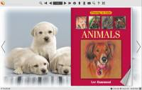 Page Flip Book Template - Cute Dog Style screenshot