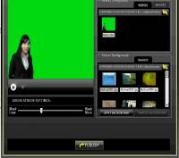 123VideoMagic Green Screen Software screenshot