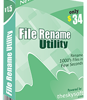 File Rename Utility screenshot