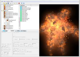 TimelineFX Particle Effects Editor screenshot