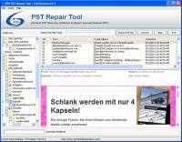 Outlook PST File Repair Tool screenshot