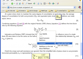 MathPlayer screenshot