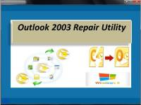Outlook 2003 Repair Utility screenshot