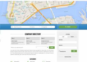 uBusinessDirectory classified directory screenshot