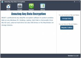 Amazing Any Data Encryption screenshot