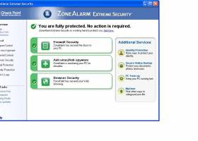 ZoneAlarm Extreme Security 2010 screenshot
