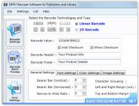 Barcode Generator Software for Publisher screenshot