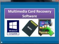 Multimedia Card Recovery Software screenshot