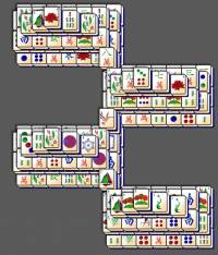 Zipper Mahjong Solitaire screenshot