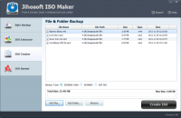 Jihosoft ISO Maker Free screenshot