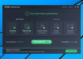 AVG AntiVirus Free screenshot