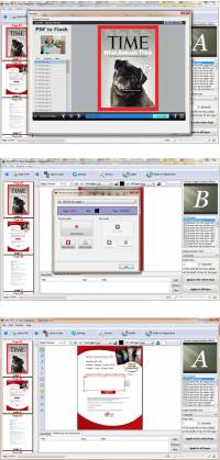 FlipBuilder PDF to Flash Magazine (Freeware) screenshot
