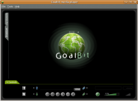 Goalbit media player screenshot