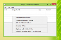 Image Optimizer Software screenshot