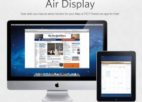 скачать air display для windows 7 бесплатно