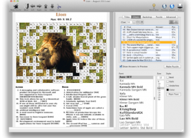 Crossword Forge for Windows screenshot