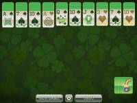St. Patricks Day 2 Suit Spider Solitaire screenshot