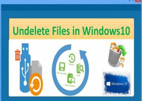 Undelete Files in Windows 10 screenshot